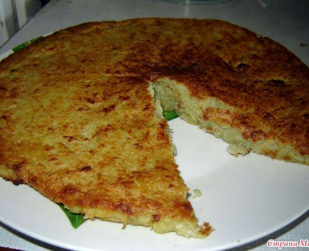 Картофельная бабка с фаршем в духовке рецепты пошагово