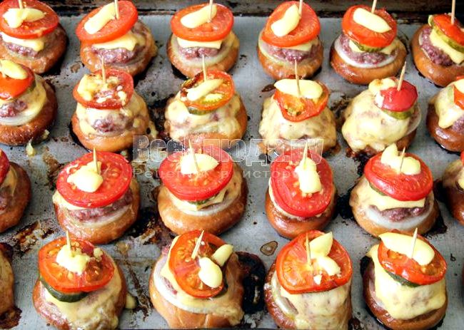баранки с фаршем рецепт приготовления