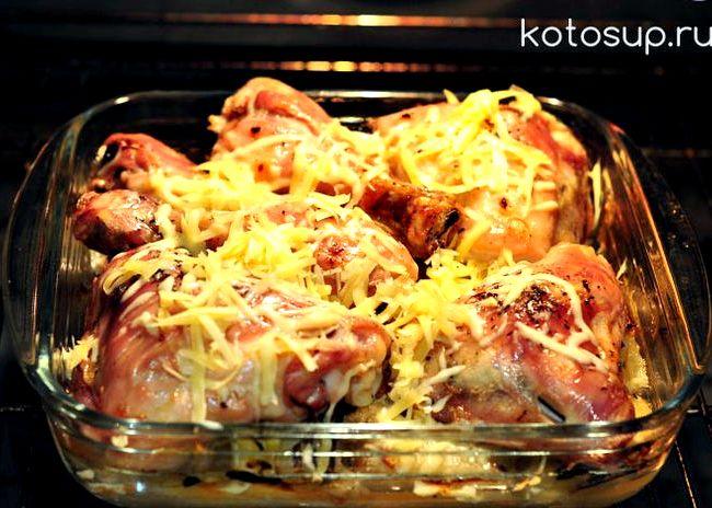 бедрышки в духовке рецепт с фото
