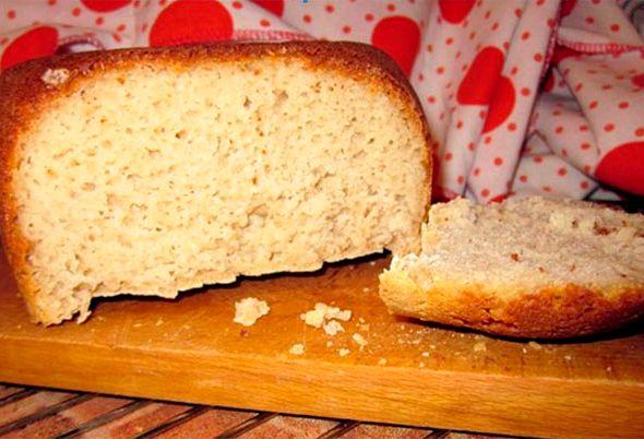 Безглютеновый хлеб в хлебопечке рецепт