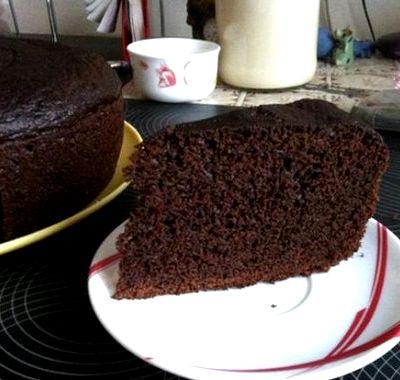 Бисквит шоколадный классический рецепт
