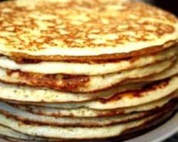 Блины на кефире рецепт с фото толстые