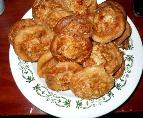 Бублики с фаршем на сковороде рецепт с фото