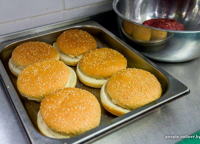 тесто для гамбургеров рецепт как в макдональдсе рецепт