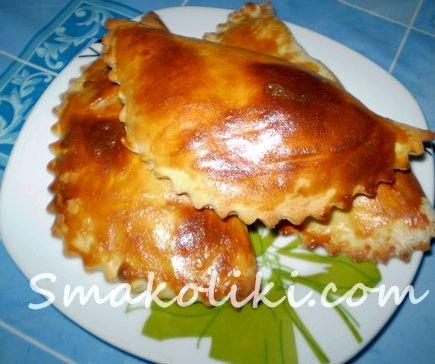 Чебуреки с курицей пошаговый рецепт с фото