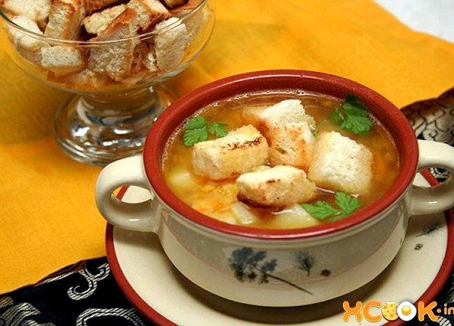 Гороховый суп с копченостями пошаговый рецепт