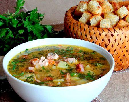 рецепты супов с копченостями с фото