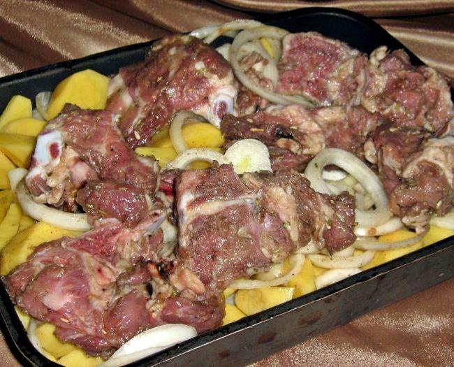 пошаговый рецепт рыбы с картофелем в духовке