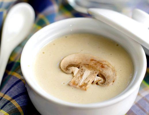 Грибной суп с сыром плавленным рецепт