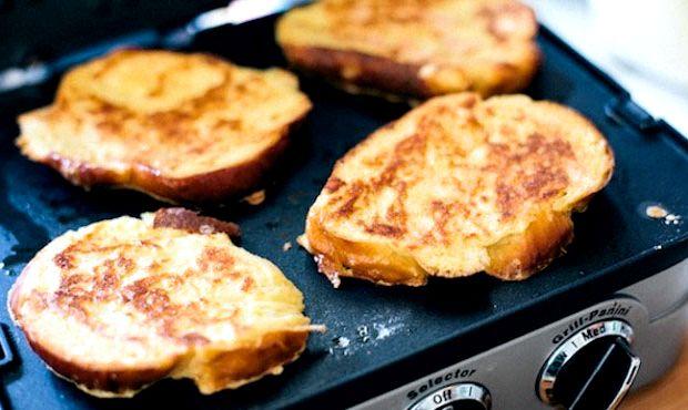 Яйцо в хлебе на сковороде рецепт с фото