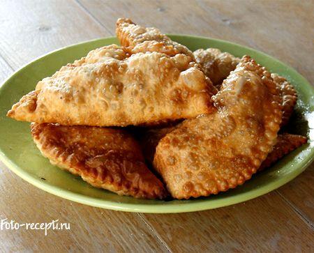 Рецепт чебуреков с мясом пошагово
