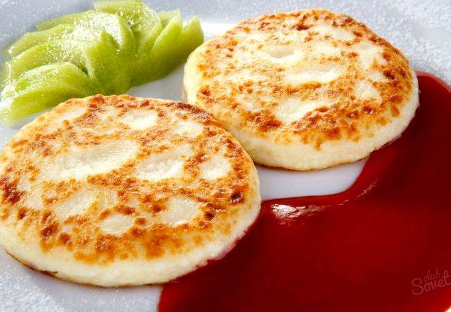 как приготовить сырники из творога на сковороде простой рецепт с фото