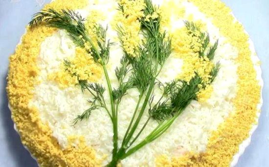 Как приготовить салат мимоза пошаговый рецепт с фото