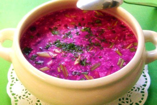 суп свекольник рецепт приготовления фото в домашних условиях