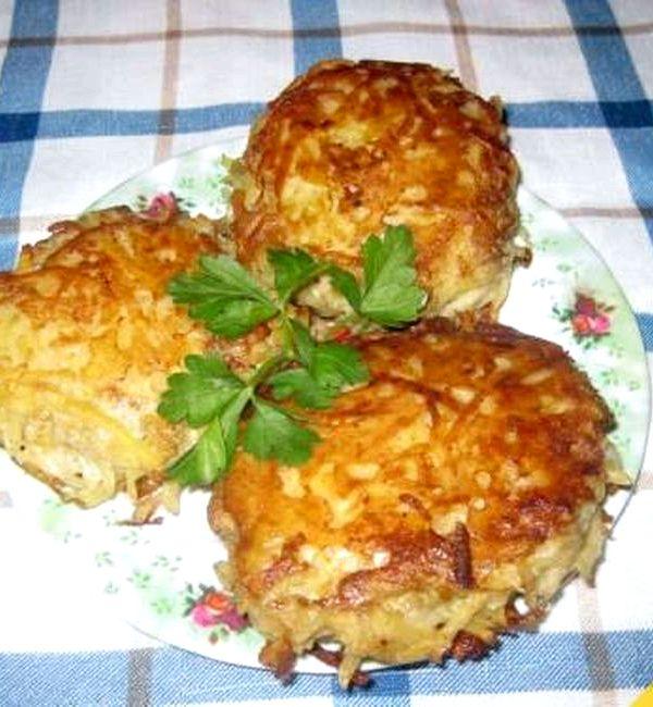 Зразы картофельные с фаршем рецепт пошагово