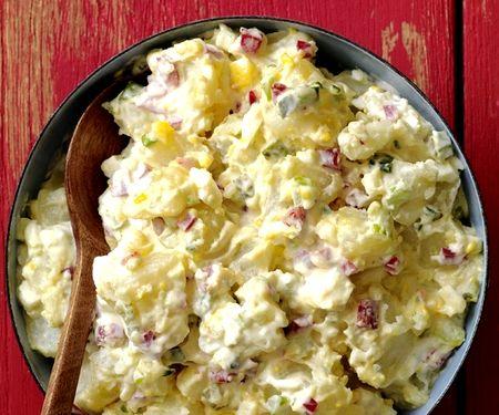 Салат с картошкой и кукурузой рецепт