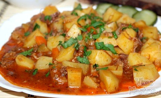 Картошка тушеная с тушенкой в мультиварке рецепты пошагово