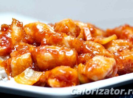 кисло-сладкий соус рецепт для курицы