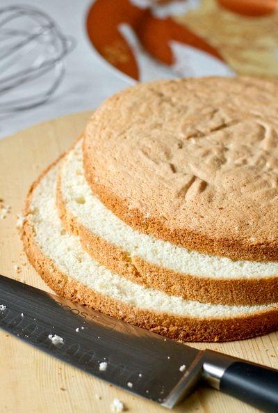 рецепт плотного бисквита для торта