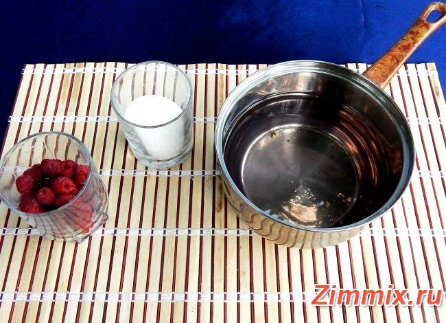 Компот из смородины черной и малины рецепт на зиму