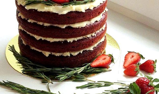 Рецепт торт с кремом чиз с фото