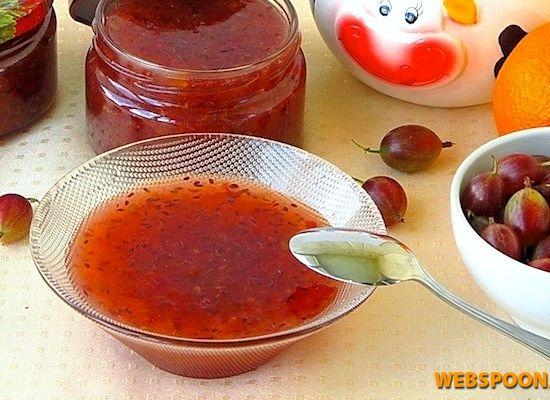 Крыжовник с апельсином варенье рецепт с пошагово