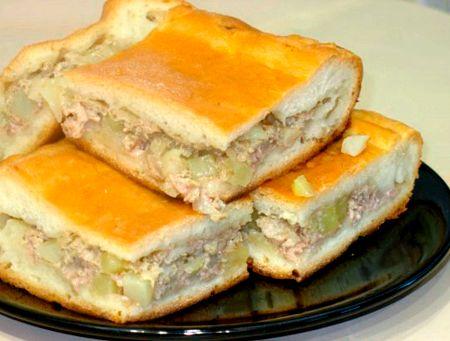 запеканка с картошкой и с мясом рецепт с фото