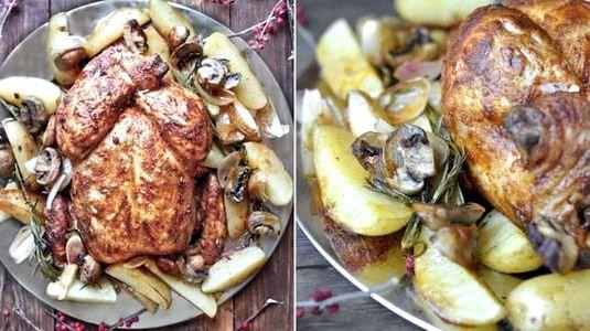 Курица на второе в духовке рецепт с фото