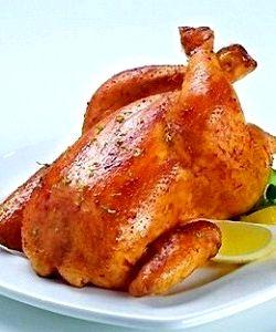 Курица в духовке самый простой рецепт 190