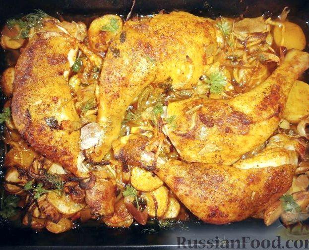 бедрышки фаршированные в духовке рецепт с фото