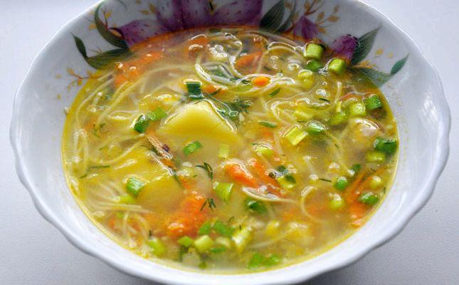 куриный суп с вермишелью в мультиварке рецепты редмонд