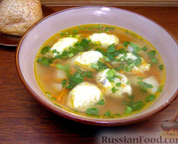 куриный суп из голени рецепт с фото пошагово