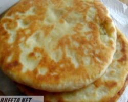Лепешки на кефире на сковороде рецепт с фото с начинкой