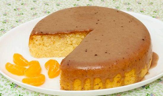 Пирог с манкой на кефире в мультиварке рецепты