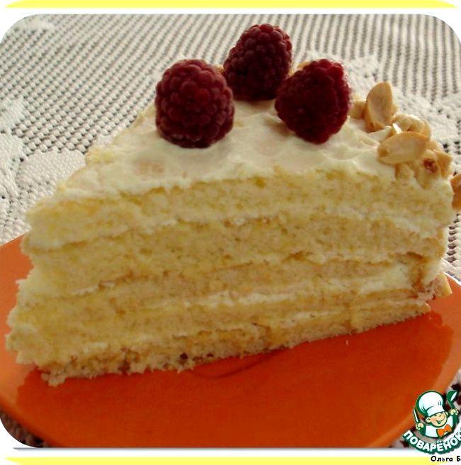 торт молочная девочка пошаговый рецепт с фото