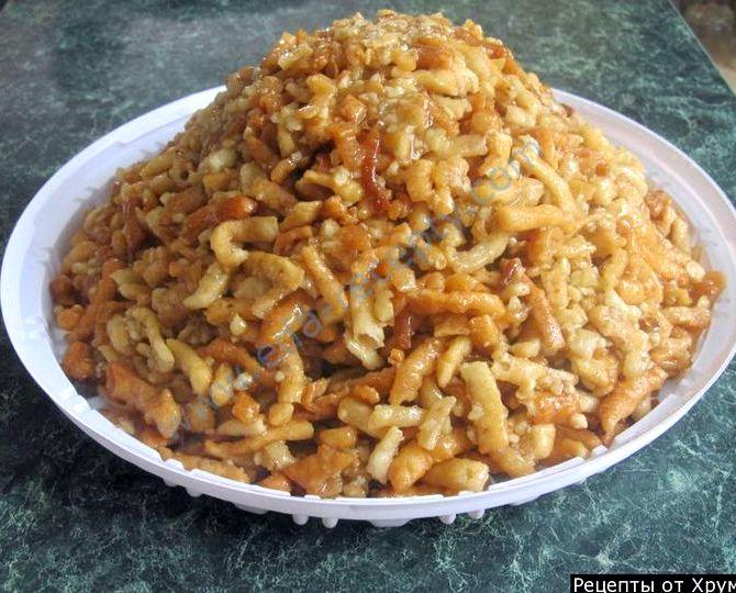 муравейник торт рецепт классический со сгущенкой