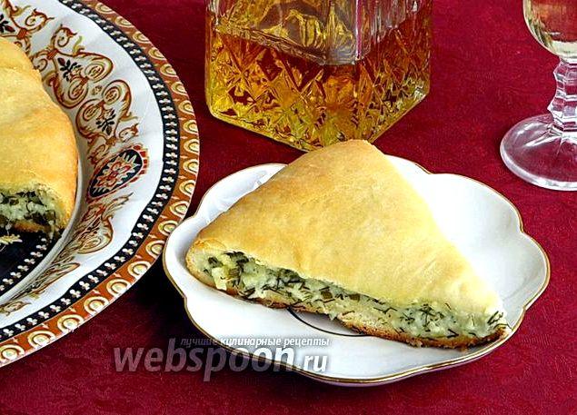 Осетинские пироги рецепт с сыром и зеленью