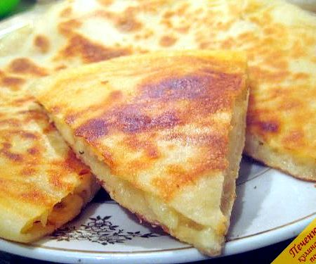 Осетинский пирог с картошкой и сыром рецепт с фото
