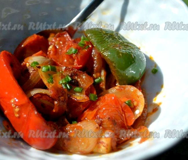 Овощи на сковороде гриле рецепт с пошагово