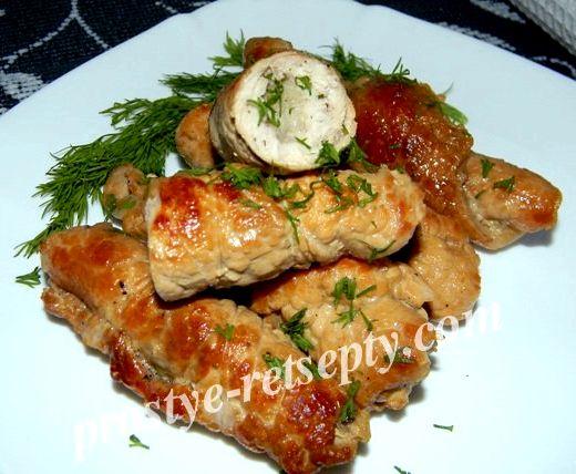 Рецепт пальчиков из свинины