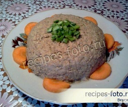 Печеночный паштет из свинины в домашних условиях рецепт с фото
