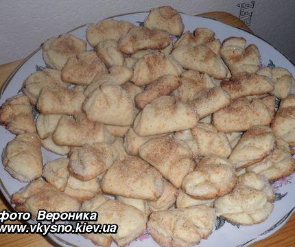 Печенье с творогом гусиные лапки рецепт