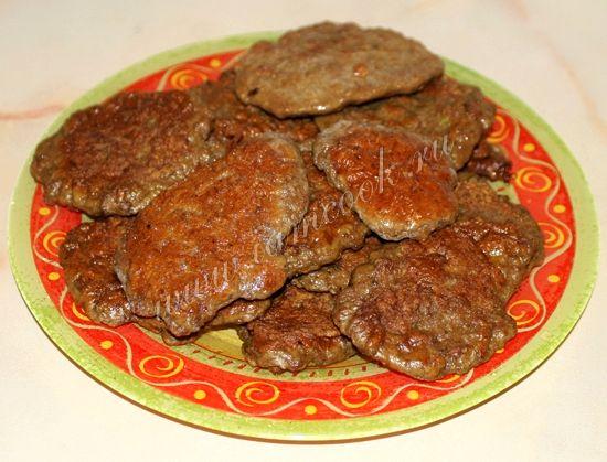 печень свиная котлеты рецепты приготовления