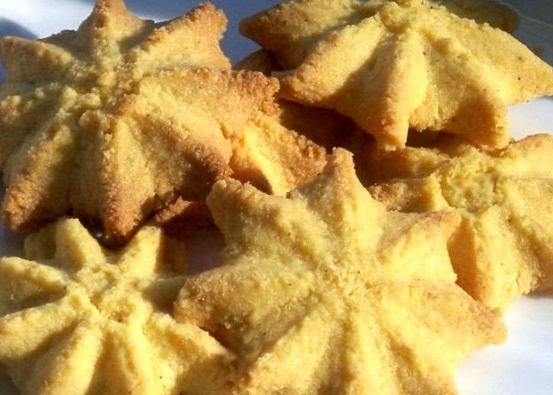 Песочное печенье на маргарине без яйца