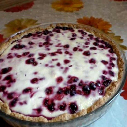 Пирог с смородиной рецепт с фото пошагово в духовке