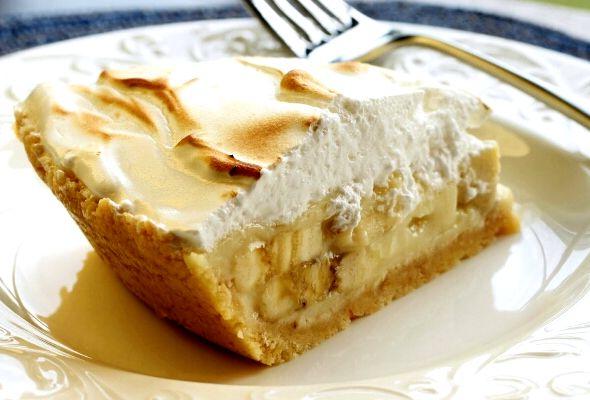 песочный пирог с бананом рецепт с фото