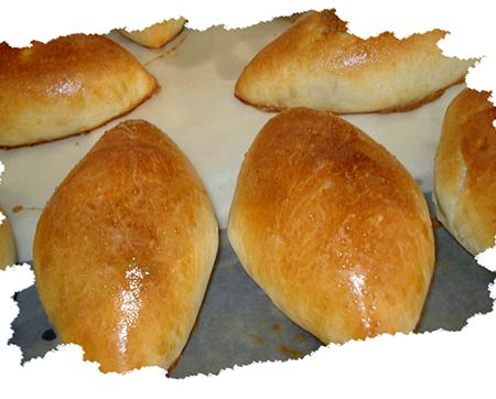 пирожки с салом в духовке пошаговый рецепт с фото