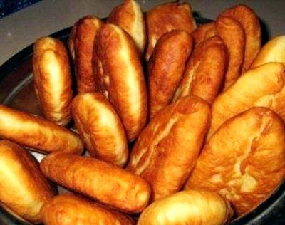 Пирожки жареные на сковороде с повидлом рецепт с фото