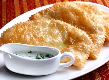 Пошаговый рецепт с фото чебуреки крымские