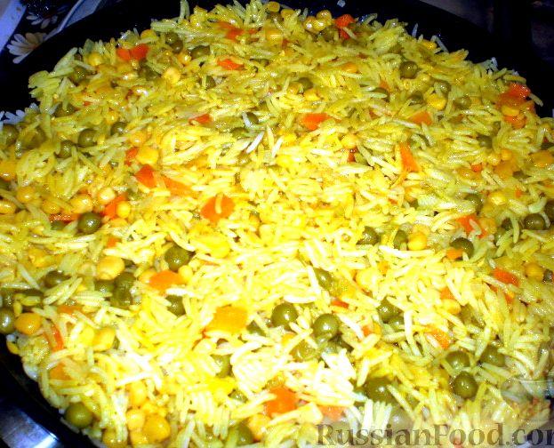 Как приготовить рис с овощами пошаговый рецепт